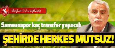 Samsunspor kaç transfer yapacak