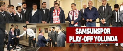 Samsunspor Play-Off Yolunda