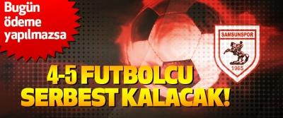 Samsunspor Sportif Direktörü Zeren: Bugün ödeme yapılmazsa 4-5 Futbolcu Serbest Kalacak!