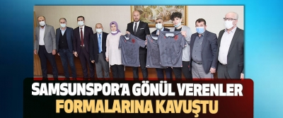 Samsunspor'a Gönül Verenler Formalarına Kavuştu