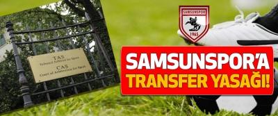 Samsunspor'a transfer yasağı!