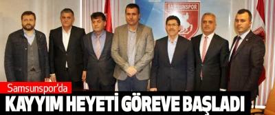 Samsunspor'da Kayyım Heyeti Göreve Başladı
