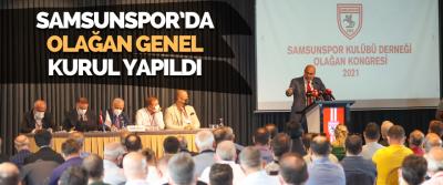 Samsunspor'da Olağan Genel Kurul Yapıldı