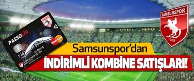Samsunspor'dan İndirimli Kombine Satışları!