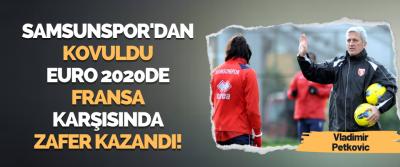 Samsunspor'dan Kovuldu EURO 2020 de Fransa Karşısında Zafer Kazandı!
