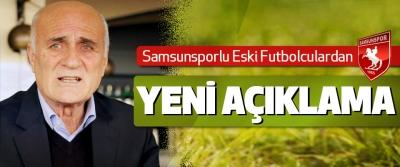 Samsunsporlu Eski Futbolculardan yeni açıklama