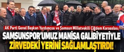 Samsunspor'umuz Manisa Galibiyetiyle Zirvedeki Yerini Sağlamlaştırdı!