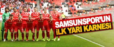Samsunspor'un İlk Yarı Karnesi