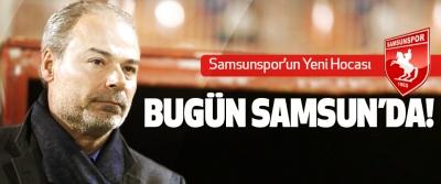 Samsunspor'un Yeni Hocası Bugün Samsun'da!