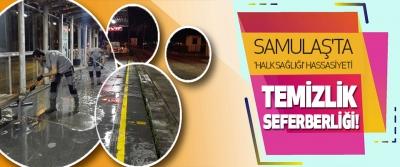 Samulaş'ta 'Halk Sağlığı' Hassasiyeti
