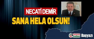 Sana helal olsun Necati Demir!