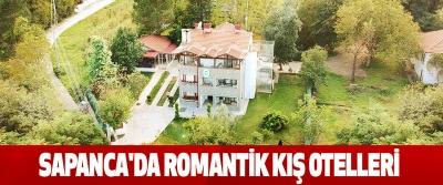 Sapanca'da Romantik Kış Otelleri