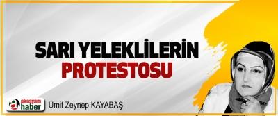 Sarı Yeleklilerin Protestosu