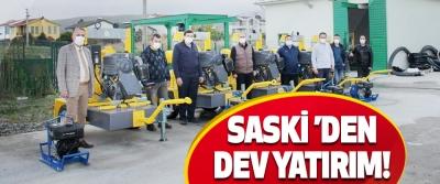 SASKİ 'den Dev Yatırım!