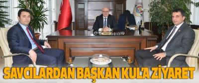 Savcılardan Başkan Kul'a Ziyaret