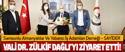 SAYİDER Samsun Valisi DR. Zülkif Dağlı'ya Ziyaret Etti!