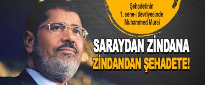 Şehadetinin 1. sene-i devriyesinde Muhammed Mursi