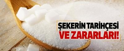 Şekerin tarihçesi ve zararları!