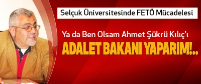 Selçuk Üniversitesinde FETÖ Mücadelesi