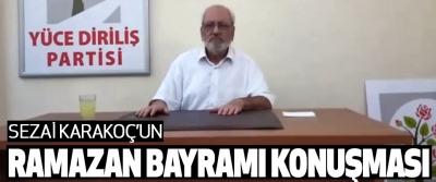 Sezai Karakoç'un 2017 Ramazan Bayramı Konuşması