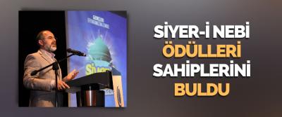 Siyer-İ Nebi Ödülleri Sahiplerini Buldu