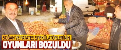 Soğan Ve Patates Spekülatörlerinin Oyunları Bozuldu