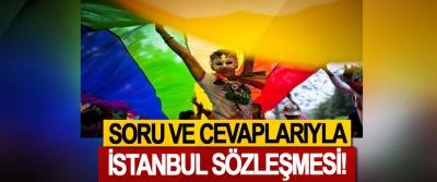 Soru Ve Cevaplarıyla İstanbul Sözleşmesi!