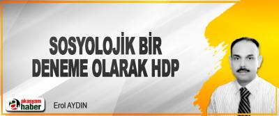 Sosyolojik Bir Deneme Olarak HDP