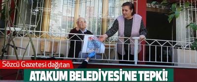 Sözcü Gazetesi Dağıtan Atakum Belediyesi'ne tepki!