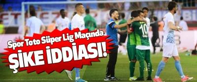 spor toto süper lig maçında şike iddiası!