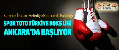 Spor Toto Türkiye Boks Ligi Ankara'da Başlıyor