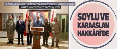 Süleyman Soylu Ve Çiğdem Karaaslan Hakkâri'de