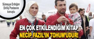 Sümeyye Erdoğan Diriliş Postasına konuştu