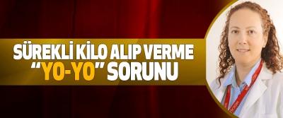 """Sürekli Kilo Alıp Verme """"Yo-Yo"""" Sorunu"""