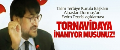 Talim Terbiye Kurulu Başkanı Alpaslan Durmuş'un Evrim Teorisi açıklaması