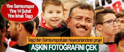 Taşçı'dan Samsunsporluları heyecanlandıran proje!