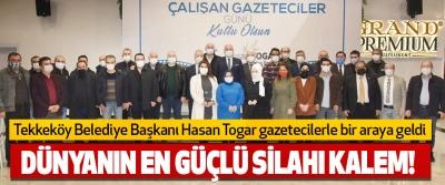 Tekkeköy Belediye Başkanı Hasan Togar Gazetecilerle Bir Araya Geldi