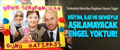 Tekkeköy Belediye Başkanı Hasan Togar: Eğitim, ilgi ve sevgiyle aşılamayacak engel yoktur!