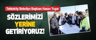 Tekkeköy Belediye Başkanı Hasan Togar