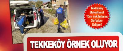 Tekkeköy Belediyesi Tüm İmkânlarını Seferber Ediyor!