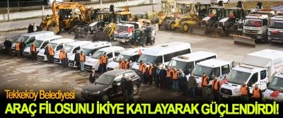 Tekkeköy Belediyesi Araç Filosunu İkiye Katlayarak Güçlendirdi!
