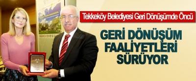 Tekkeköy Belediyesi Geri Dönüşüm Faaliyetleri Sürüyor