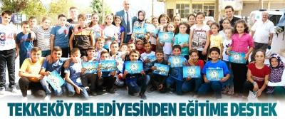 Tekkeköy Belediyesinden Eğitime Destek