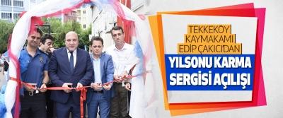 Tekkeköy Kaymakamı Edip Çakıcı'dan Yılsonu Sergisi Açılışı