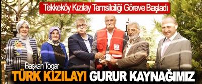 Tekkeköy Kızılay Temsilciliği Göreve Başladı