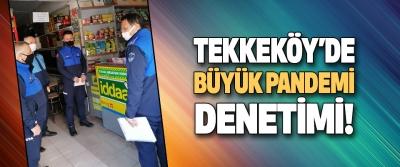 Tekkeköy'de Büyük Pandemi Denetimi!