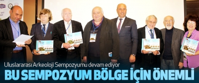 Tekkeköy'de Uluslararası Arkeoloji Sempozyumu devam ediyor