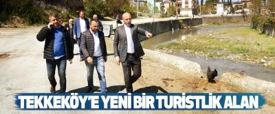 Tekkeköy'e Yeni Bir Turistlik Alan