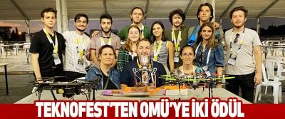 Teknofest'ten Omü'ye İki Ödül