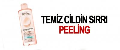 Temiz Cildin Sırrı Peeling
